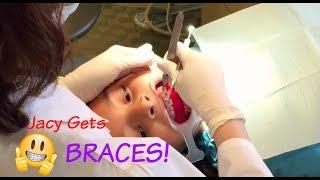 Jacy Gets Braces! l Seven JJGirls