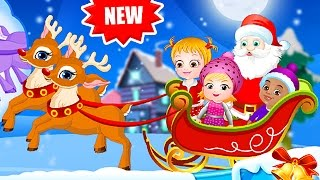 getlinkyoutube.com-Baby Hazel Game Movie - Baby Hazel Christmas Days - Dora the Explorer