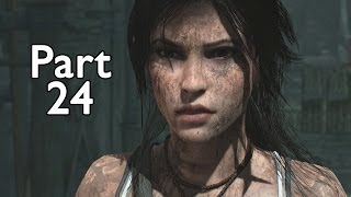 getlinkyoutube.com-Tomb Raider Definitive Edition Walkthrough Part 24 Exiting Research Base (Xbox/PS4)