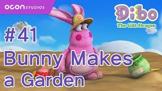 getlinkyoutube.com-[OCON] Dibo the Gift Dragon _Ep41 Bunny Makes a Garden( Eng dub)