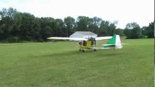 getlinkyoutube.com-First flight and landing of CGS Hawk Arrow N443EP