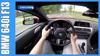 getlinkyoutube.com-POV 2016 BMW 640i Convertible F12 NICE! OnBoard Acceleration (ROOF UP/DOWN)