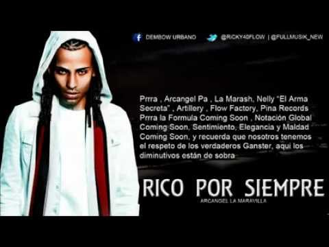 Rico por siempre (letra) Arcangel (Official Video Lirics) 20
