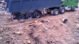 Tamiya Globeliner Carson tipper trailer
