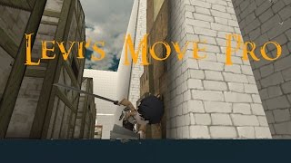 getlinkyoutube.com-Levi's Move Pro! (Attack on Titan Tribute Game)
