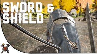 getlinkyoutube.com-CATTLE PROD/SWORD AND SHIELD - Ark Survival Evolved (Part 30: Ark Fear Evolved)