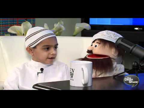 Muslim Kid recites Quran talks Islam - TheDeenshow