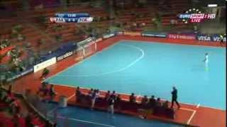 getlinkyoutube.com-Paraguay vs Portugal    FIFA Futsal World Cup 2012   1 8 finals   Match 1