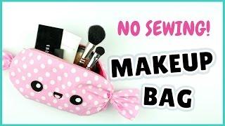 NO SEW! Kawaii Makeup Bag | DIY Candy Makeup Bag | DIY Candy Pencil Case