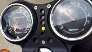 getlinkyoutube.com-Triumph Legend Exhaust Dunstal Replica
