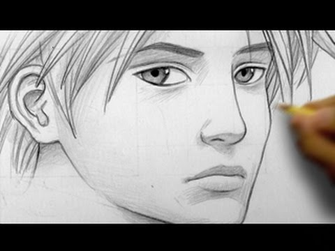 "How to Draw a ""Realistic"" Manga Face, Line by Line"