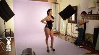 getlinkyoutube.com-Sugey Abrego en Playboy México | Backstage