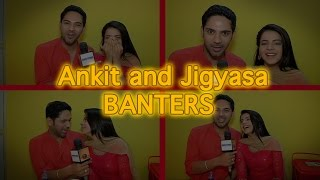 Ankit and Jigyasa aka Dhruv and Thapki of Thapki Pyaar ki lets us in their shooting world