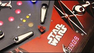 getlinkyoutube.com-DIY Star Wars Pinball machine