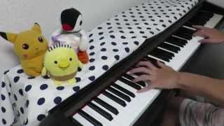 getlinkyoutube.com-Gakkou Gurashi OP - Friend shitai ふれんどしたい [piano]