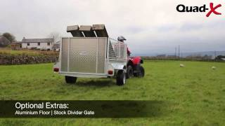 Quad-X - 7x4 General Purpose Trailer