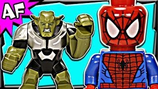 getlinkyoutube.com-SpiderMan SPIDER-HELICOPTER Rescue 76016 Lego Marvel Super Heroes Animated Building Review