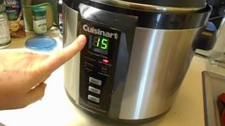 getlinkyoutube.com-Electric Pressure cooker Meatloaf and potatoes