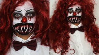 getlinkyoutube.com-KILLER CLOWN Halloween SFX Tutorial