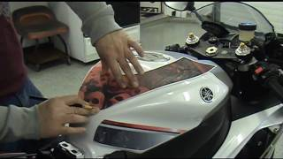 getlinkyoutube.com-Auto Trim DESIGN Precut Motorcycle Graphic Installation How-To Tips and Tricks