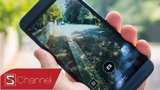 getlinkyoutube.com-Schannel - Đánh giá HTC One E8 : Thiết kế, màn hình ,camera....