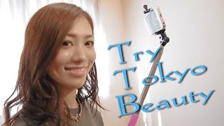 getlinkyoutube.com-Try Tokyo Beauty ~Ayumi Yasuoka~ Selfie Stick – セルカ棒