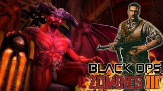 Black Ops 3 Zombies: CHARACTERS DIE in HELL Map! Final DLC Easter Egg Ending! BO3 Zombies Storyline