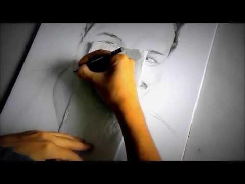 Desenho em grafite Priscila Pimentel 04