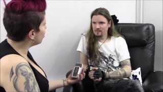 getlinkyoutube.com-Patty Toledo interviews Perttu Kivilaakso, from Apocalyptica