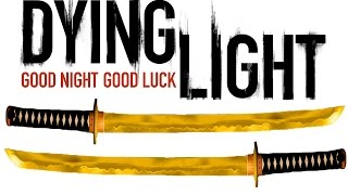 Dying Light Extremely Rare Gold Katana & Stasis Field Projector