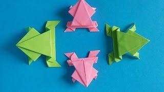 getlinkyoutube.com-Xếp con ếch - frog - Origami