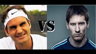 getlinkyoutube.com-Lionel Messi VS Roger Federe : Best Comercial Ever - Thug Life