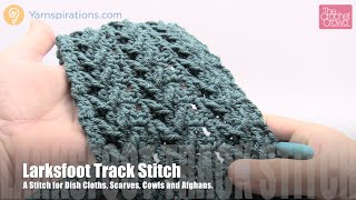 getlinkyoutube.com-How to Crochet Larksfoot Track Stitch