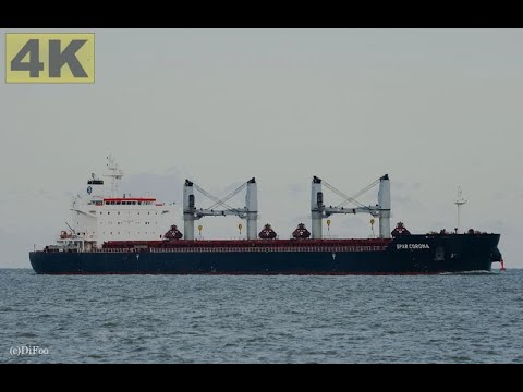 Click to view video SPAR CORONA - IMO 9497830 - Germany - River Elbe - Otterndorf - 4K VIDEO