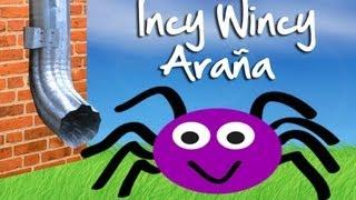 getlinkyoutube.com-Incy Wincy Araña - canción infantil. Nursery rhymes video.