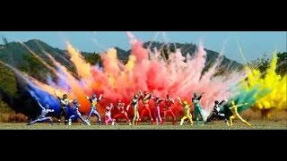 getlinkyoutube.com-Power Rangers Dino Charge Team Up V.2