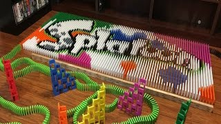 getlinkyoutube.com-Splatoon - In Dominoes!