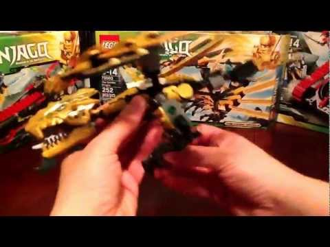 Lego 2013 Ninjago The Golden Dragon Review Set # 70503