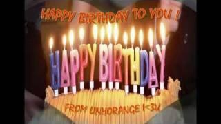 getlinkyoutube.com-Happy Birthday - Techno Remix (videoclip by LinhOrange)