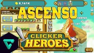 getlinkyoutube.com-ASCENSIÓN / VOLVIENDO AL NIVEL 1| Clicker Heroes | Gameplay en Español
