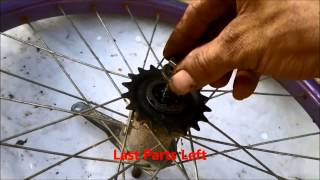 getlinkyoutube.com-How To Build A Drift Trike Front Wheel And Fork Mounts  By JACEonDRIFT