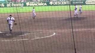 getlinkyoutube.com-仙台育英満塁から同点3塁打で甲子園全体が仙台育英を応援する感動シーン(2015年8月20日)