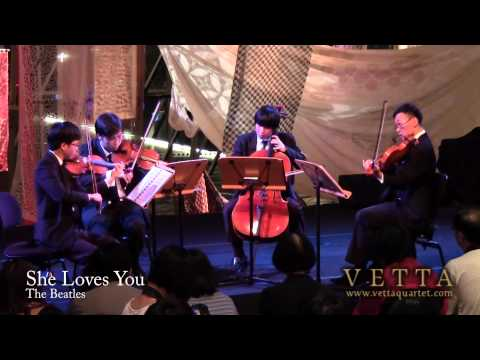 She Loves You (Singapore String Quartet) - Flipside 2012 at Esplanade Concourse