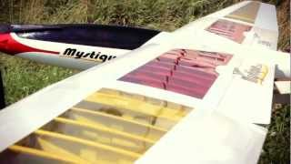 getlinkyoutube.com-E-Flite Mystique 2.9 metre Sailplane ARF