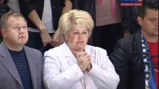 getlinkyoutube.com-Lokomotiv Yaroslavl Crash Announcement during Salavat vs. Atlant Game