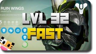 """getlinkyoutube.com-Destiny - How To Get """"Level 32"""" Fast - Destiny High Level """"Legendary Gear"""" (Destiny Dark Below DLC)"""