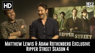 getlinkyoutube.com-Matthew Lewis & Adam Rothenberg Exclusive Interview - Ripper Street Season 4