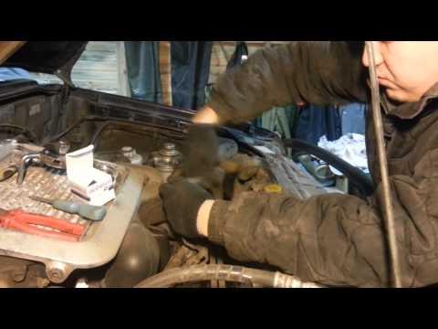 Isuzu Bighorn Замена термостата