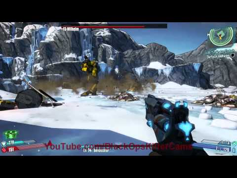 Borderlands 2 PC Killing Wilhelm 1080p Ultra Settings PC Test - MSI GTX560TI 1GB, I7 930, 12GB RAM,