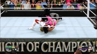 """getlinkyoutube.com-WWE 2K16: All moves in the """"New Moves"""" DLC and who they belong to"""
